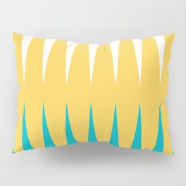 Geometrical retro colors modern print Pillow Sham