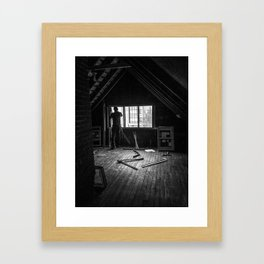 Changing of the Windows on Eastwood Framed Art Print