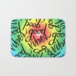 Good Vibes - Rainbow Pride Bath Mat