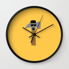 Heisenberg The One Who Knocks Wall Clock