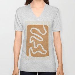abstract minimal 31 Unisex V-Neck