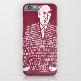 My Name is John Daker iPhone Case