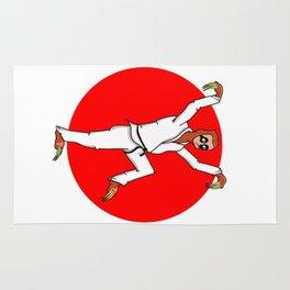 Sloth Karate Rug