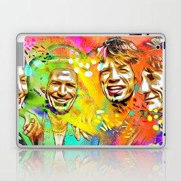 The Stones Pop Art Painting Laptop & iPad Skin