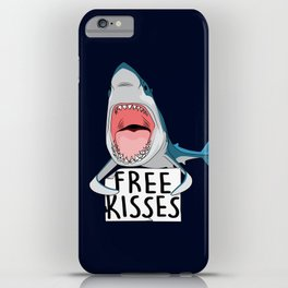 Free kisses iPhone Case