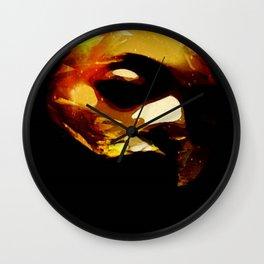 IRON MASK Wall Clock