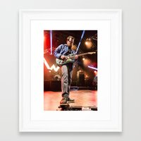 weezer Framed Art Prints featuring Weezer by Adam Pulicicchio Photography