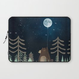 the moon balloon Laptop Sleeve