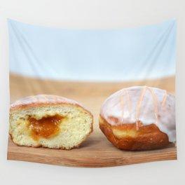 Jelly Donut Wall Tapestry