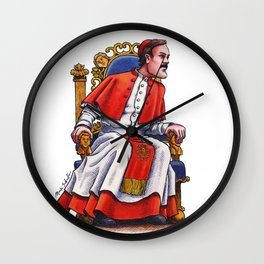 John Cleese of Monty Python: The Last Supper Wall Clock