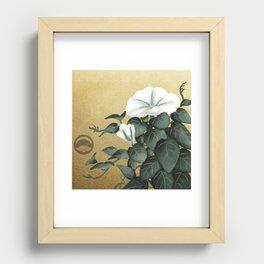 Yuugao Recessed Framed Print