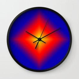 Rainbow Triangle Texture Wall Clock