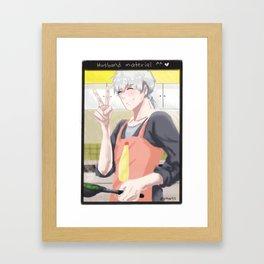 Mystic Messenger - Husband Zen (Snapchat series) Framed Art Print