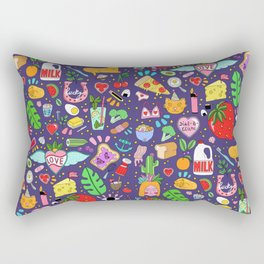 Kitsch Paradise Rectangular Pillow