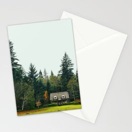 Try imagining a place where it's always safe and warm. Stationery Cards
