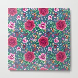 SPANISH ROSE Metal Print