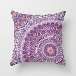 Mandala 489 Throw Pillow