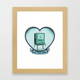 BMO Framed Art Print