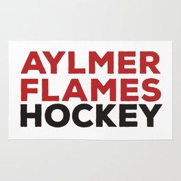 Aylmer Flames Hockey Rug