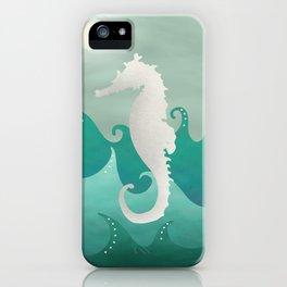 Sea Stallion #Seahorse #Ocean iPhone Case