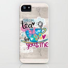 Special Tea iPhone Case