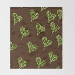 Heart of Hearts 2 Throw Blanket