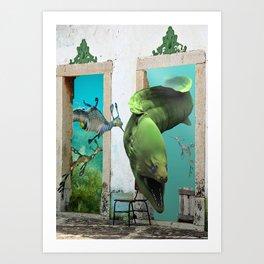 Enemy at your doorstep Art Print
