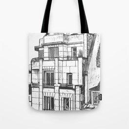 Roofs of Paris, 1932.  Tote Bag