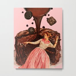 Chocolate Dreams Metal Print