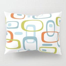 1950s Retro Organic Pattern Pillow Sham