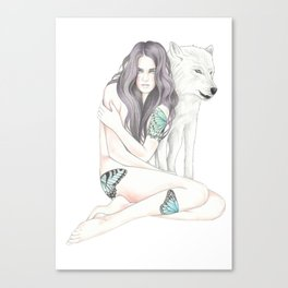 She-Wolf Canvas Print