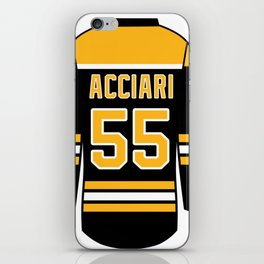Noel Acciari Jersey iPhone Skin