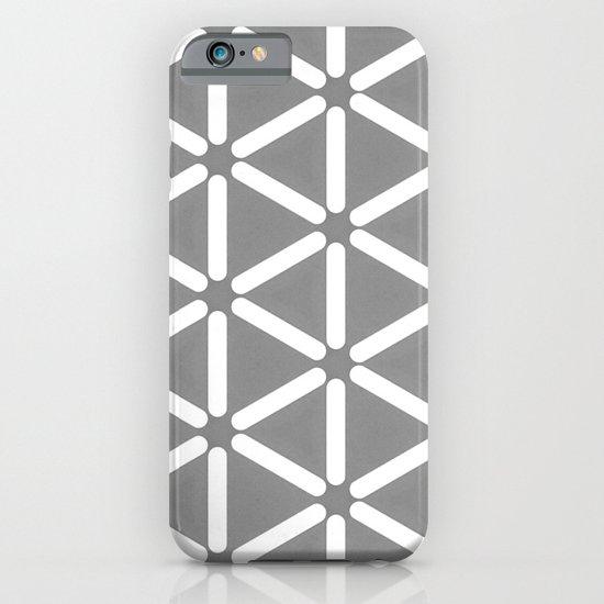 Wildeman Grey Pattern iPhone & iPod Case
