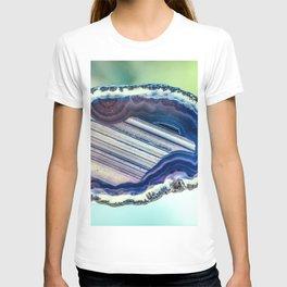 Blue purple geode T-shirt