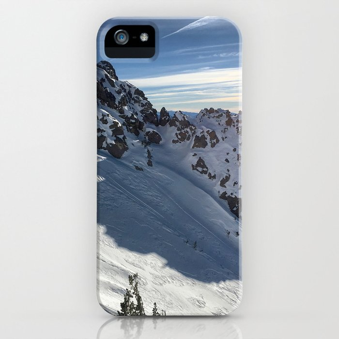 Mammoth Mountain Perfect Day iPhone Case
