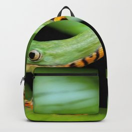 Frog Portrait Backpack