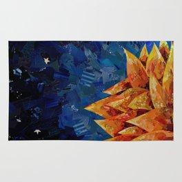 Star Bloom Collage Rug