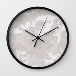 Gray marble texture background. Wall Clock