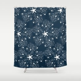 Firefly Squid Shower Curtain