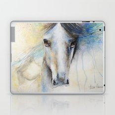 Horse Watercolor Painting Laptop & iPad Skin