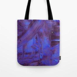 Blurple Mess Tote Bag