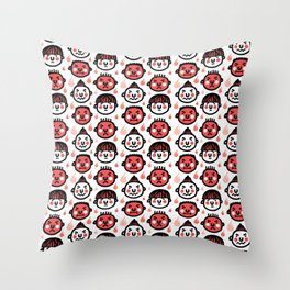 i am mad Throw Pillow