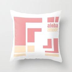 Aloha amore! Throw Pillow