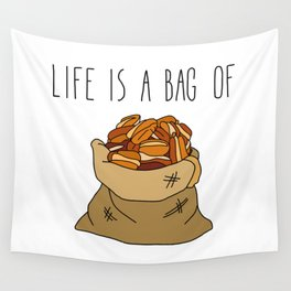 Life Is a Bag of... Wall Tapestry