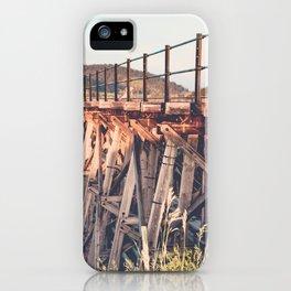 Spring Creek Trestle iPhone Case