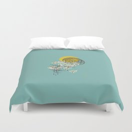 Seasons Time Space Duvet Cover