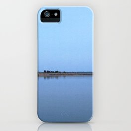Watercolor Nightscape, Janes Island 01, Maryland iPhone Case