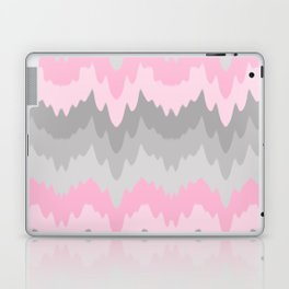 Pink Grey Gray Ombre Chevron Camo  Laptop & iPad Skin