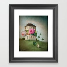 House of Flowers Framed Art Print