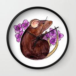 Chinese zodiac: Rat Wall Clock